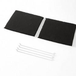 Long Life Charcoal filter CFC0047652 (pair)