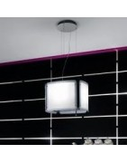 Alba Cubo Island cooker hoods Filters, Lamps and accessories