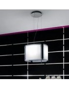Light Cube Island cooker hoods Filters, Lamps and accessories
