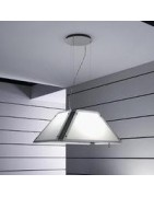 Light Piramide Island cooker hoods Filters, Lamps and accessories