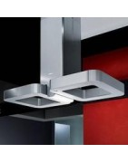Visual Island (T shape Chimney Hood style) cooker hoods Filters, Lamps and accessories